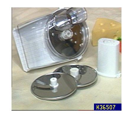 KitchenAid Disc Slicer and Shredder Attachment — QVC.com on chef's slicer, one touch slicer, kitchen shredder slicer, ninja kitchen slicer, banana slicer, paderno slicer, electric slicer, benriner slicer, cuisinart mandolin slicer, oxo slicer, hobart slicer, garlic slicer, waring slicer, kitchen wizard slicer, bosch slicer, cutco slicer, chicago cutlery slicer, progressive slicer, as seen on tv slicer, chefmate slicer,