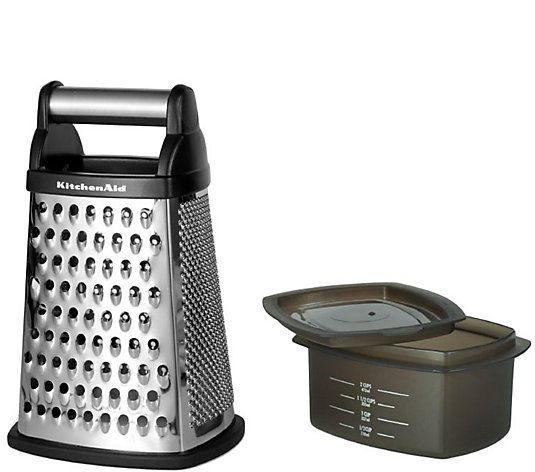 KitchenAid Gourmet Box Black Grater