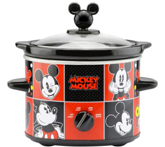 Disney Mickey Mouse 2 Qt Round Slow Cooker   K378207