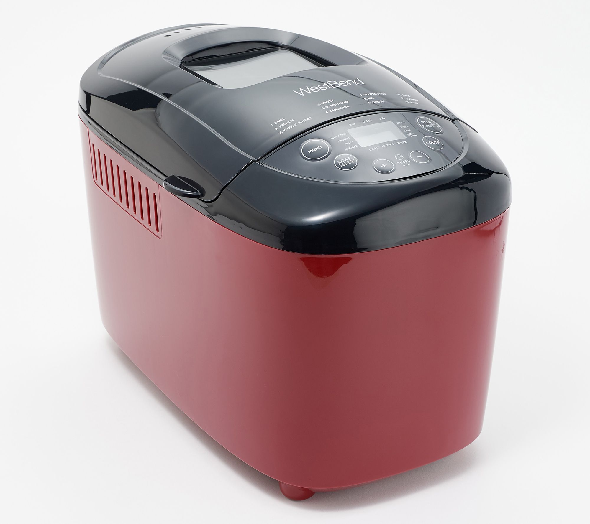 Bake a homemade loaf in a new breadmaker
