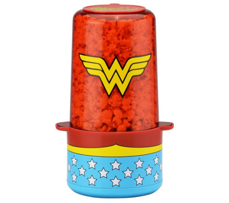 Dc Comics Wonder Woman 6 Cup Popcorn Popper
