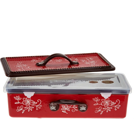 Temp-tations Floral Lace Multifunctional Baker with Accessories