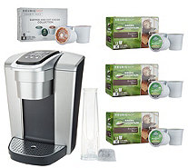 Keurig K-Elite Coffee Maker with My K-Cup & 42 K-Cup Pods - K48708