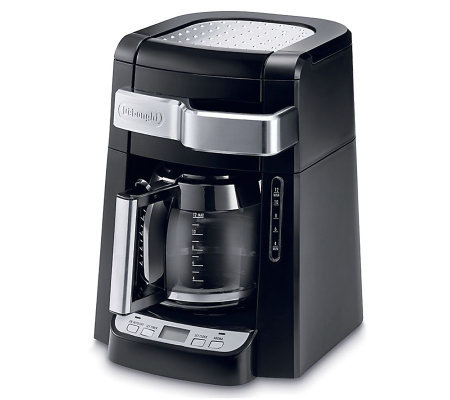 DeLonghi 12-Cup Drip Coffee Maker with CompleteFrontal Access