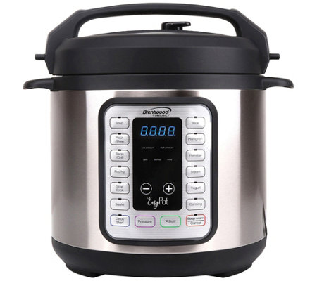 Brentwood Appliances 8 In 1 Easy Pot Electric Multicooker