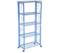 Cook's Essentials 5-Tier Deluxe Folding Storage Rack - K46509