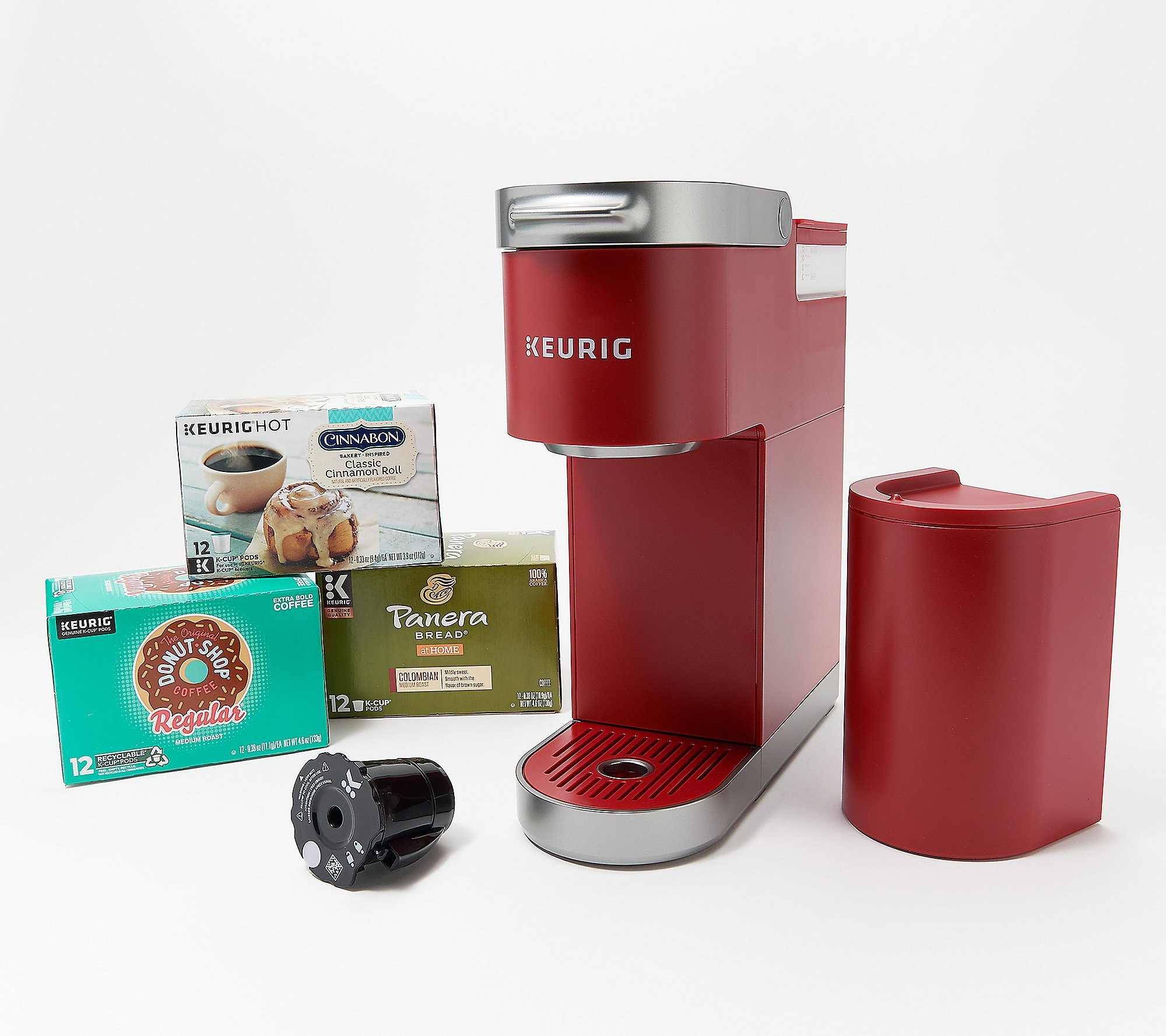 Keurig K-Mini Plus Coffee Maker w/ Strong Brew, My K-Cup and 36 K-Cups -  QVC.com