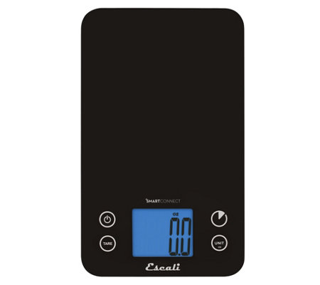 Escali Kitchen Scale with SmartConnect Bluetooth App