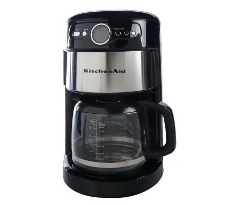 kitchenaid coffee maker kitchenaid 14 cup glass coffee maker w digital display 13339