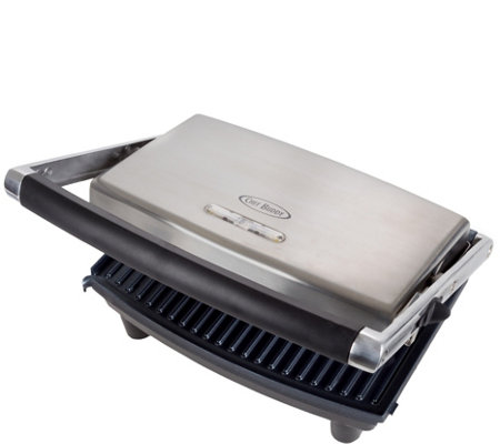 Chef Buddy Panini Press Grill & Gourmet Sandwich Maker