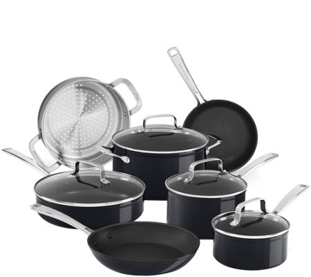 KitchenAid Hard-Anodized Nonstick 11-Piece Set