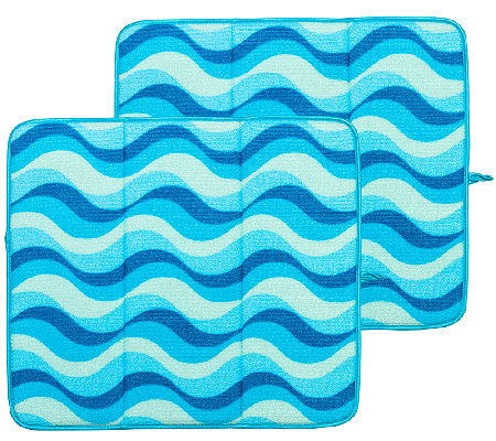 Premium Microfiber Drying Mat Set by Campanelli