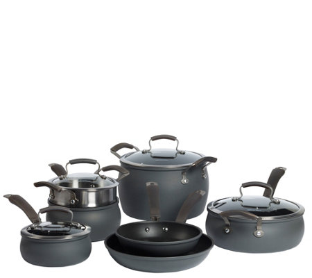 Epicurious Hard Anodized 11-Piece Cookware Set