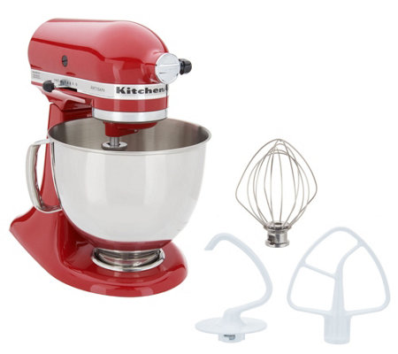 KitchenAid 5-qt Artisan 325W Tilt-Head Stand Mixer w/ Fresh Prep Attachment