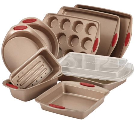 Rachael Ray Cucina Nonstick Bakeware 10 Piece Set