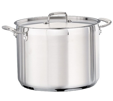Tramontina 16-qt Pro Covered Stock Pot with Stainless Lid