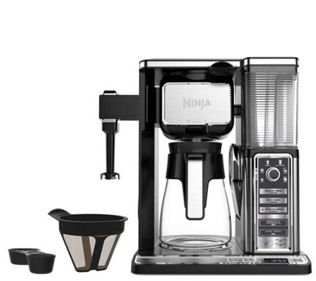 Ninja Coffee Bar with Glass Carafe and Built-inFrother