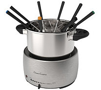 Classic Cuisine Stainless Steel Fondue Pot Set - K378314