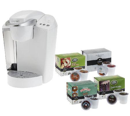 Keurig K45 Coffee Maker With 48 K Cup Packs Water Filter Kit