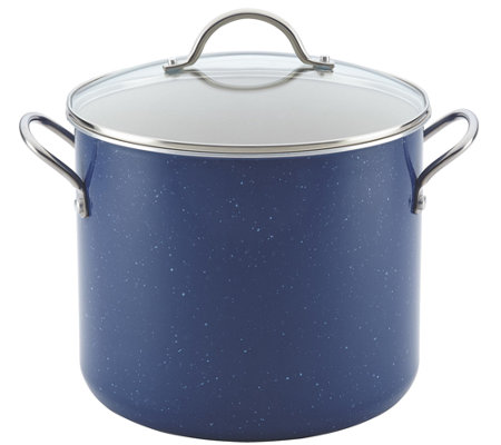 Farberware New Traditions Speckled 12-Quart Covered Stockpot