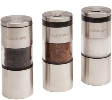 Cuisinart 3-Piece Magnetic Grilling Spice Set
