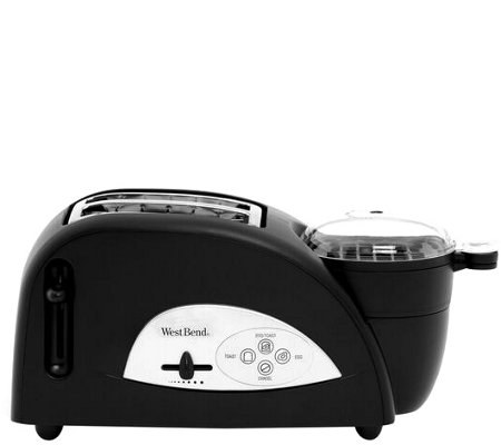 West Bend Two-Slice Egg and Muffin Toaster
