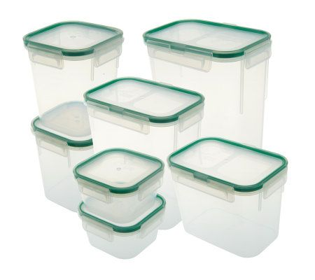 Emeril by Snapware 7 Piece Storage Container Set Page 1 QVCcom