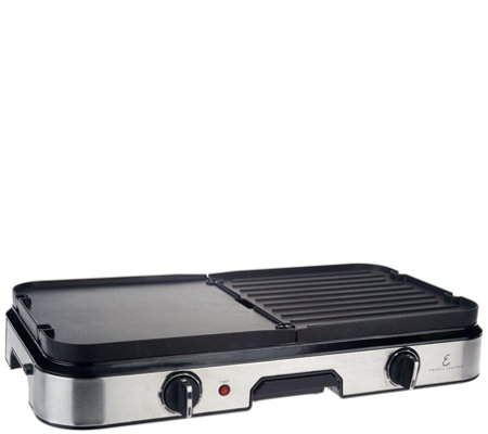 Emeril Pro 3-in-1 Reversible Grill & Griddle