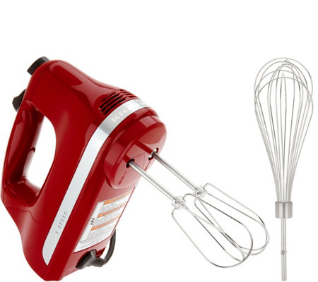 KitchenAid 5-Speed Ultra Power Hand Mixer w/ Wire Pro Whisk