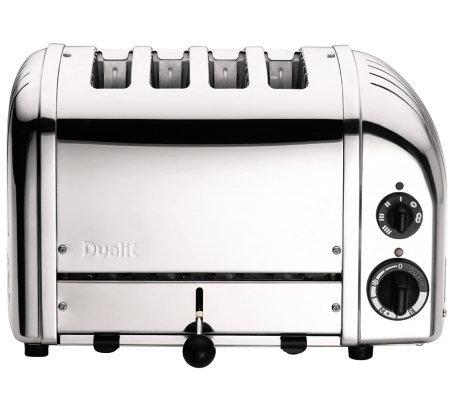 Dualit 4 Slice Newgen Toaster Chrome