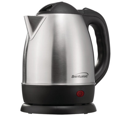 Brentwood Appliances 1 2 L Stainless Steel Electric Kettle