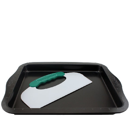 BergHOFF Perfect Slice Cookie Sheet with Cutting Tool