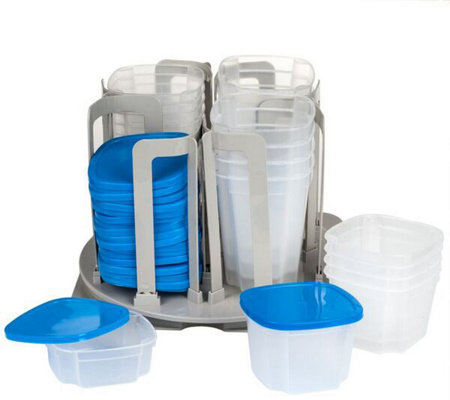 Chef Buddy Swirl Around 49-Piece Food Storage Organizer