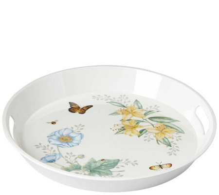 Lenox Butterfly Meadow Large Round Tray