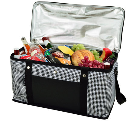 Picnic at Ascot Ultimate 36-qt Collapsible Cooler, Houndstooth