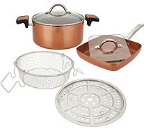 Copper Chef 7 Piece 14 In 1 Wonder Cooker Cooking System Page 1