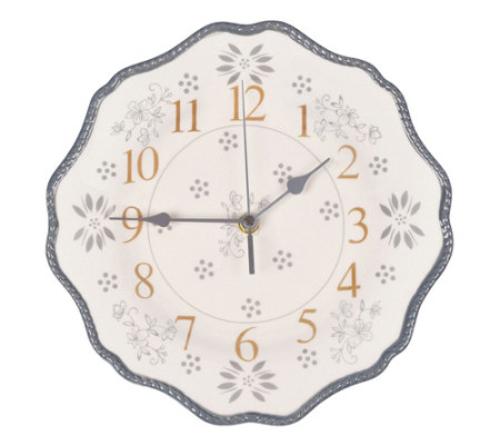 Temp-tations Stoneware Wall Clock