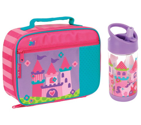 Stephen Joseph Princess Classic Lunchbox And Flip Top Bottle