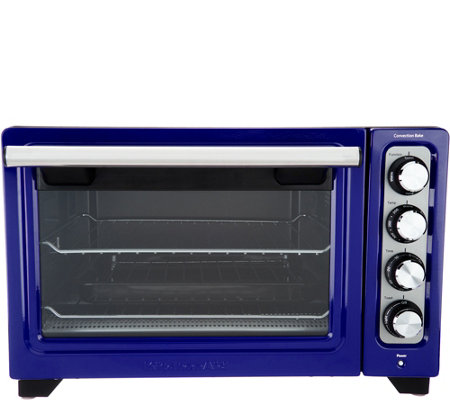 Kitchenaid Countertop Convection Oven With Extra Broil Pan Qvc Com