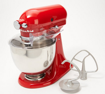 KitchenAid 100-Year Limited Edition Queen of Hearts 5qt Stand Mixer —  QVC.com