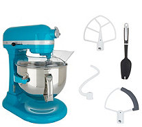 KitchenAid Pro 600 6-qt Bowl Lift Stand Mixer w/ Flex Edge Beater - K48221