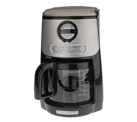 Kitchenaid Javastudio 14 Cup Programmable Coffee Maker Page 1