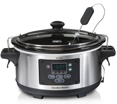 Hamilton Beach Set & Forget 6-Quart Programmable Slow Cooker