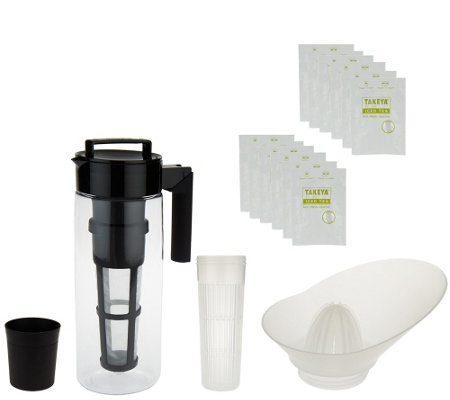 Takeya Iced Tea Beverage System with Infuser