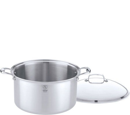 Hammer Stahl Stainless Steel Clad 12-qt CoveredStock Pot