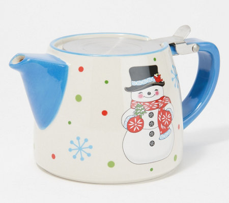 Temp-tations Seasonal 18-oz Teapot with Strainer
