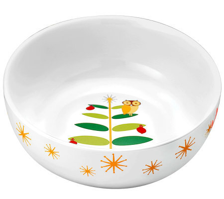 "Rachael Ray Holiday Hoot 10"" Serving Bowl"