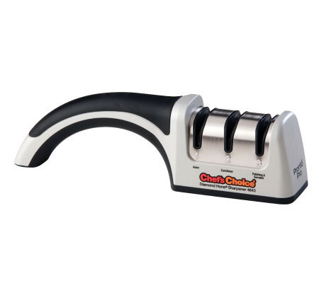 Chef's Choice ProntoPro #4643 3-Stage Manual Knife Sharpener