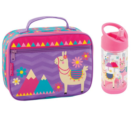 Stephen Joseph Llama Classic Lunchbox And Flip Top Bottle