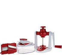 Cook's Essentials 36 oz Spiral Slicer Combo Set - K45824